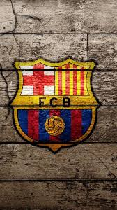 wallpaper Free Barcelona Logo Iphone 5 PIC WPC