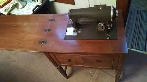 Vintage Kenmore Sewing Machine In Cabinet by Antique Cabinet Sewing Machines Model Pictures To Pin On Pinterest