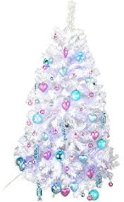 4ft Pink Pre Lit Christmas Tree by 4ft Pre Lit Slim Pe Artificial Christmas Tree Amazon Co Uk