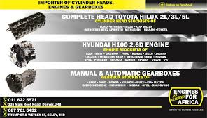 New And Used Engines Gearboxes And Cylinder Heads For Cars Bakkies ... Pin By Matthew Barty On Hilux Ln65 2l 4x4 Pinterest Siwinder Turbo System 8291 Gm 62l Blazer 4wd Banks Power Toys Front Lower Fog Light Bumper Grill Pair Audi A8 Quattro 06 07 08 42 2013 Chevrolet Silverado 1500 Ltz Crew Cab 4 Door Lifted West Tn 2016 Ford F250 Hd Lariat Race Red 6 V8 Gas Off Rd Used Used Car Toyota Hilux Nicaragua 2000 Terex 402 And 402l All Terrain Crane Sterett Equipment Company 9601 Brake Rigging Set For 4wheel Trucks Shoes Levers Beams