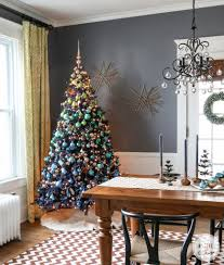 6ft Slim Christmas Tree With Lights by A Blue Christmas Inspired By Charm