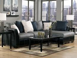 Grey Leather Sectional Living Room Ideas by Furniture Awesome Design Distressed Leather Sectional For