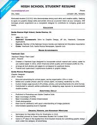 Sample Resume For High School Student Australia Samples Of Resumes Job Example Students Template