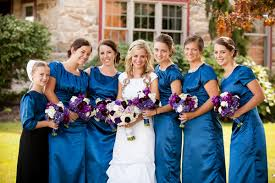 A Romatic Purple Red Blue Elegant Wedding With Glamorous Style