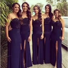 Lace Bridesmaid DressLong GownNavy Blue GownsSimple DressesCheap GownsVintage Brides DressDark Navy Satin