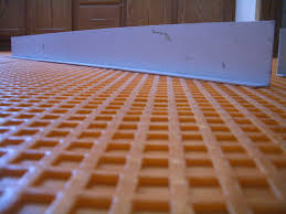 Suntouch Heated Floor Not Working by How To Install Suntouch Warmwire In Floor Heating Part 2