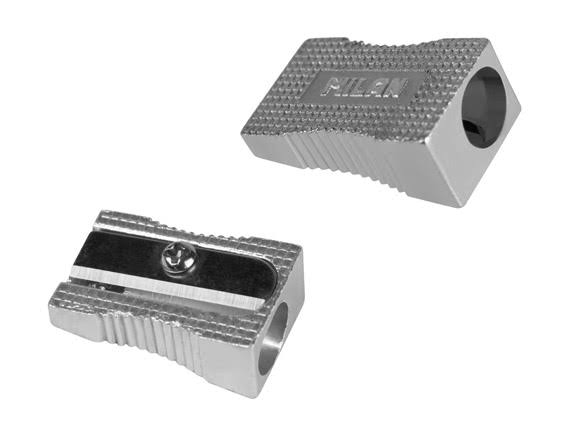 Milan Aluminum Pencil Sharpener - 20ct