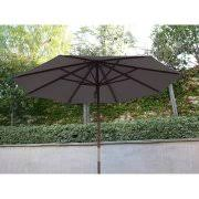 Patio Umbrella Replacement Canopy 8 Ribs by Formosa Covers 9ft Umbrella Replacement Canopy 6 Ribs In Red