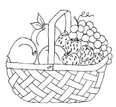 Fruit Coloring Pages Free Printable For Kids With Faces