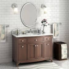 48 Inch White Bathroom Vanity Without Top by Vanities Costco