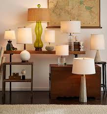 Pottery Barn Crystal Table Lamps by Tall Cut Crystal Table Lamp Rejuvenation