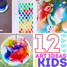 12 Easy Art Ideas For Kids BABBLE DABBLE
