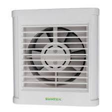 Exhaust Fans For Bathroom Windows by 6 Inch Window Mounted Full Plastic Bathroom Exhaust Fan Global