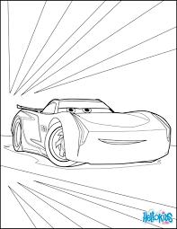 Coloriages Cars Coloriage Flash Mcqueen 3 Et 2 Dessins De For