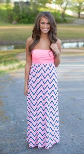 blue and pink maxi dress best dressed