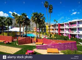 100 Sagauro Palm Springs The Saguaro Hotel In CA Stock Photo 54307572