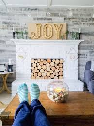 Create A Beautiful Scandinavian Christmas Living Room With Few Easy DIY Crafts And Decor Ideas