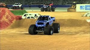 100 Blue Monster Truck Jam Thunder Freestyle In Abu Dhabi May 10 2013