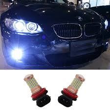 2pcs 9006 hb4 cree chips 4014 60smd 30w led car fog light bulbs