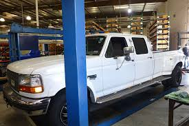 100 1995 Ford Truck Project Big White Suspension Upgrade On A F350