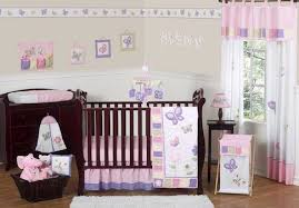Pink Crib Bedding by Sweet Jojo Designs Butterfly Collection 11 Piece Crib Bedding Set