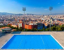 How To Take A Swim In The Pool With Views Of City Barcelona