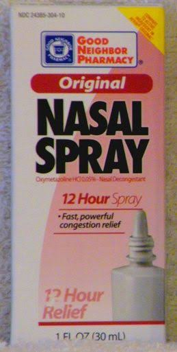 Original Nasal Spray 12 Hour Relief (1 fl oz / 30 ml) by Good Neighbo