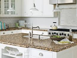 Vintage Metal Kitchen Cabinets by Kitchen Cream Marble Kitchen Countertops With Dark Brow Wood
