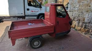 100 Mighty Trucks The Mighty Piaggio Ape I Think This One Was Fitted With The 30