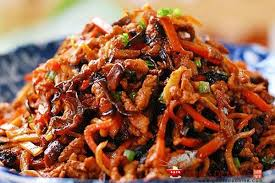 cuisine chinoise porc emincés de porc à la sauce y recette chinoise