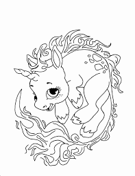 Easy Unicorn Coloring Pages 20 Beautiful For Adults