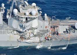 Uss America Sinking Photos by Us Sailors U0027were Trapped Alive As Uss Fitzgerald Sank U0027 Daily