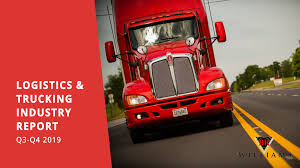 100 3 Way Trucking Logistics Industry Report QQ4 2019 With FREE