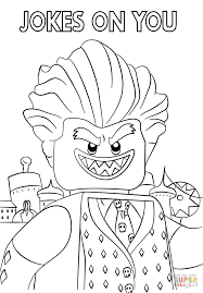 Click The Jocker From LEGO Batman Movie Coloring Pages To View Printable Version Or Color It Online Compatible With IPad And Android Tablets