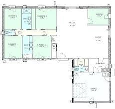 maison plain pied 5 chambres plan maison une chambre plan maison 3 chambres plain pied plan