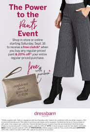 Dress Barn Coupon Excelent Dress Barn Ascena Retail Group Employee Befitsascena Dressbarn In Three Sizes Plus Petite And Misses Js Everyday Printable Coupons For 2016dress November Size Drses Gowns For Women Catherines Scrutiny By The Masses Its Not Your Mommas Store Womens Maxi Skirts Skorts Bottoms Clothing Kohls Michaels Coupons Printable Spotify Coupon Code Free Pottery Ideas On Bar Tables Might Soon Become New Favorite Yes Really 20 Off At Or Online Via Promo Get Text Codes Mobile