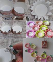 Easy Paper Cup Sunflower DIY Projects