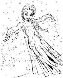 Frozen Coloring Pages Archives