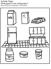 Remarkable Food Safety Coloring Pages Kids Games Activities