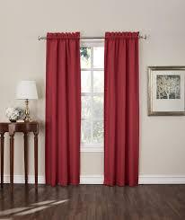 Kmart Curtain Rod Ends by Sun Zero Shawn Room Darkening Window Curtain Panels 2 Piece