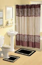 Leopard And Red Bathroom Decor by Leopard Bathroom Set Ebay