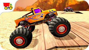 100 Monster Trucks Free Games Car Racing Truck Funs Of Stunts Gameplay Android Free Games