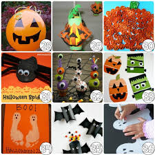 Easy Homemade Halloween Preschool Crafts Kids Art Activities On Simple And Cute Ghost Craft For