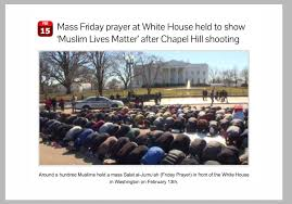 muslim prayer outside of the white house youtube