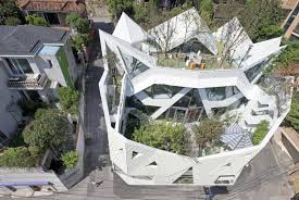 100 Blooming House Unfolds Like Origami Designs Ideas On Dornob