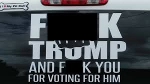 Texas Sheriff Calls Out Truck's Anti-Trump Decal, Sparks Debate - WFMZ Lamedouchey Bumper Stickers And Window Decals Bumper Sticker Switch 2 Gluten Free Carr Dem Stickers So Dull Tailgating Isnt Worth Bother Auto Car Sticker Decal Cowboy Hat Texas Truck Laptop 8 By Past Programs 42015 Womens Voices Raised How To Remove Those Campaign Features Oprah Overrated Pretentious Racist Antiamerican Hypocrite Tom The Backroads Traveller Honk If Youre Horny Funny Crazy Wild Usa Stock Photos Curious Tags Windshield