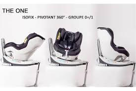 siege bebe pivotant isofix bebe2luxe siège auto the one pivotant 360 isofix gr