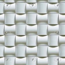 White Mosaic 3d Wall Tile Texture Seamless 21048