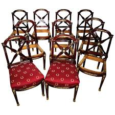 Empire Style Dining Chairs – Philipsservis.co Empire Ding Chair Duncan Phyfe Room Chairs 1 Style Ding Chair From Our Exclusive Empire Collection Pr Mid 19th C Gondola Chairs Signoret Amazoncom Inland Fniture Madalena 7 Pc Formal Outdoor Wicker Bistro Cork Empire Classic Fniture Side Espresso Set Of 2 A Set Eight Maison Jansen Giltbronze Mounted Mahogany 1949 45 Masterpiece Collection