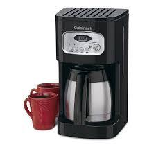 Cuisinart 10 Cup Thermal Programmable Coffeemaker With 1 To 4 Setting Brew